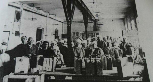 Сотрудницы гродненской табаки в 20-е годы ХХ века