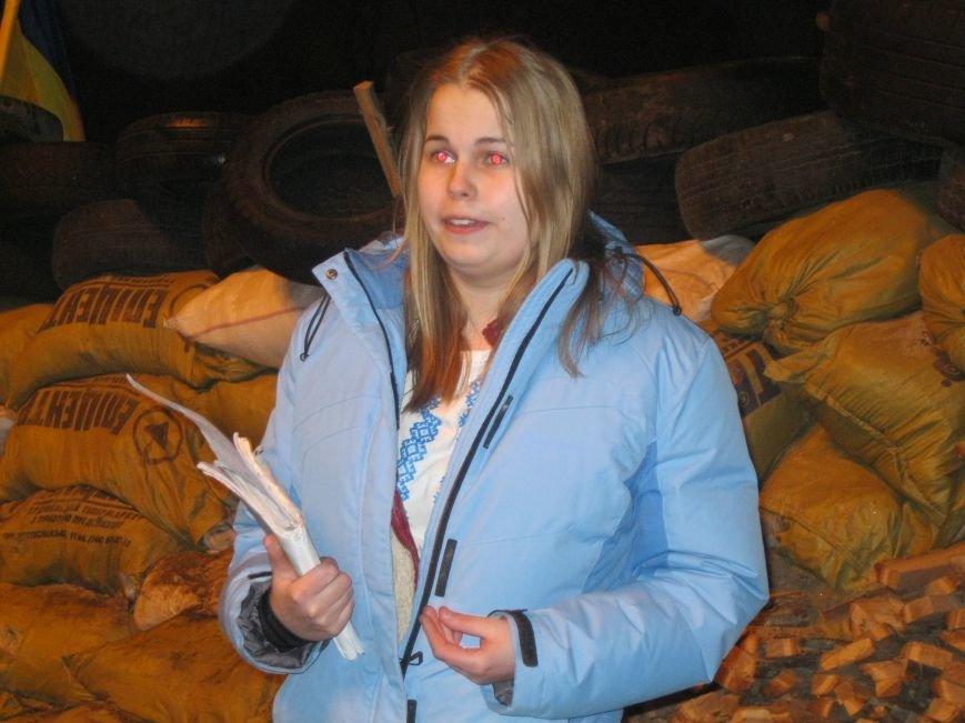 На Евробаррикаде в Чернигове звучали стихи (ФОТО), фото-1