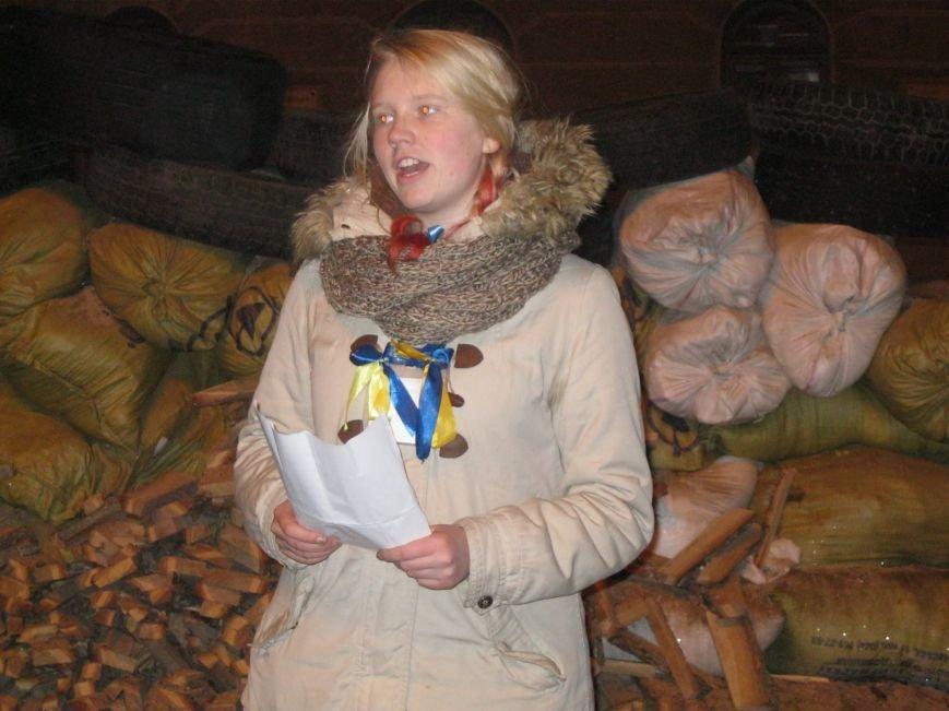 На Евробаррикаде в Чернигове звучали стихи (ФОТО), фото-3