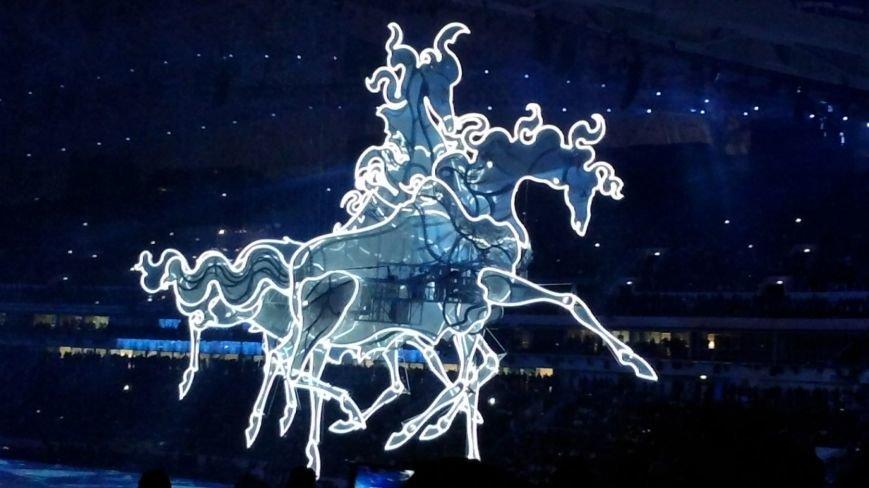 Жители Дона приняли участие в Церемонии открытия Олимпийских Игр (Фото волонтеров Таганрога), фото-3