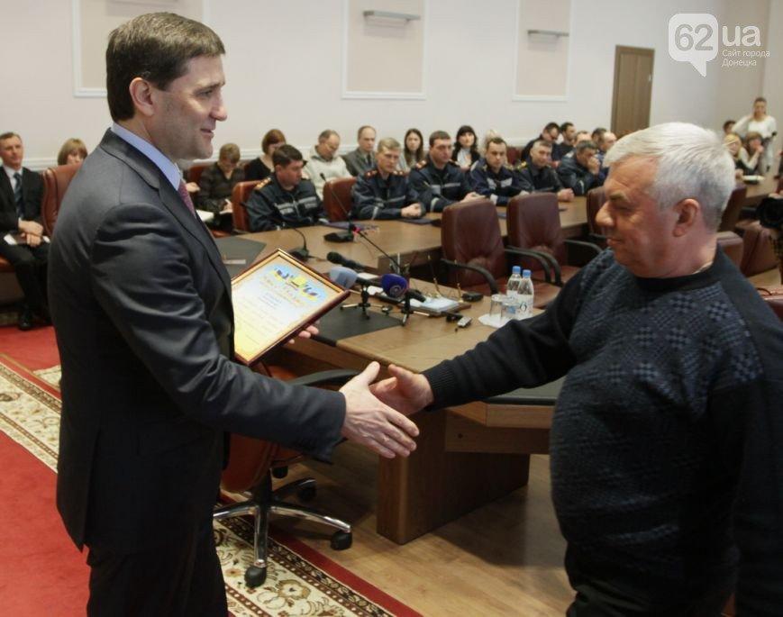 Губернатор Донетчины Андрей Шишацкий наградил простых мариупольских спасателей (ФОТО), фото-1