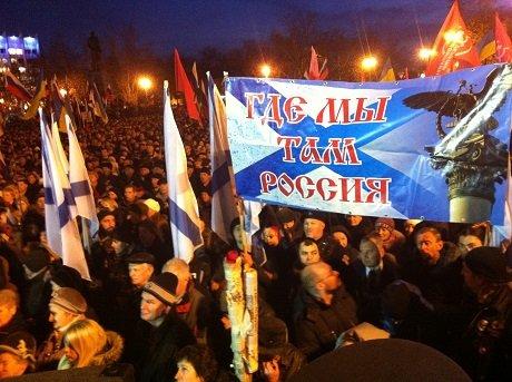 «Украинский фронт» Добкина поддержали байкеры Путина, фото-2
