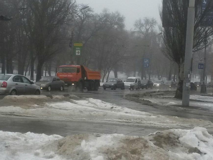 В Мариуполе автомобиль «Горводоканала» столкнулся с «Мерседесом» (ФОТО), фото-4