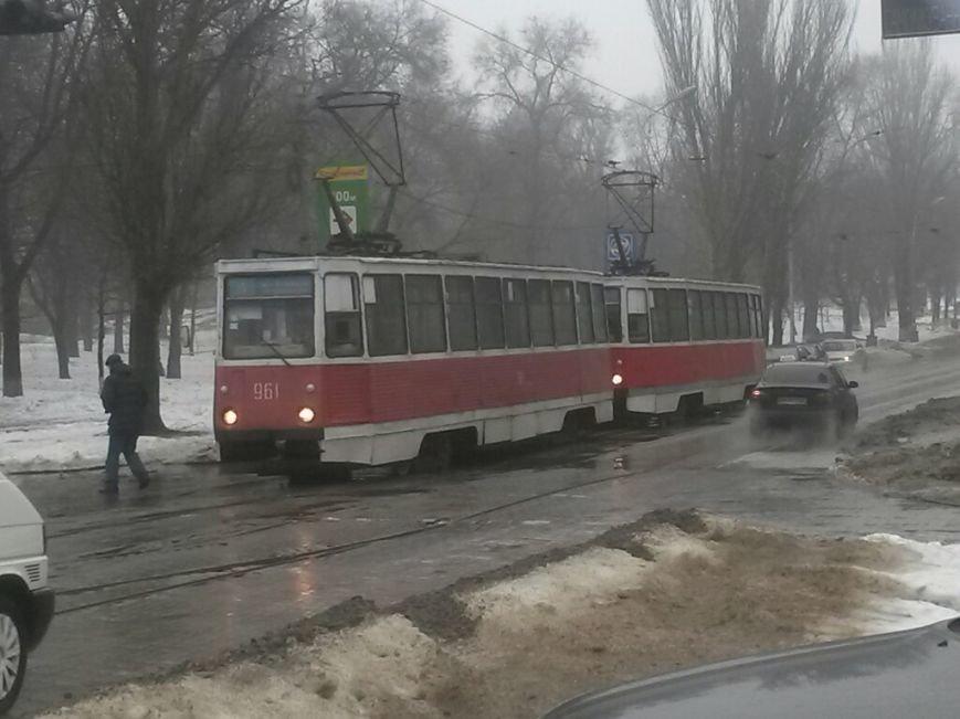 В Мариуполе автомобиль «Горводоканала» столкнулся с «Мерседесом» (ФОТО), фото-3