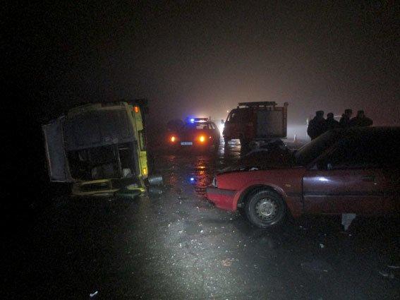 В Полтаве «маршрутка» попала в ДТП. Среди пострадавших - трое детей и один взрослый (ФОТО), фото-1