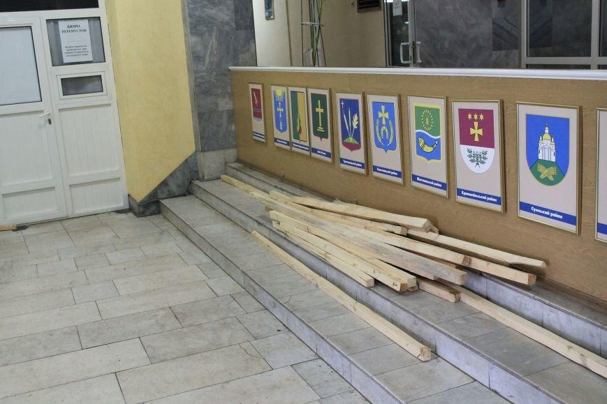 В Сумах частично разблокировали «Пентагон» (ФОТО), фото-1