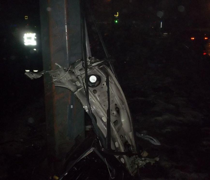 На проспекте Гагарина минувшей ночью в ДТП погиб мужчина (ФОТО), фото-2