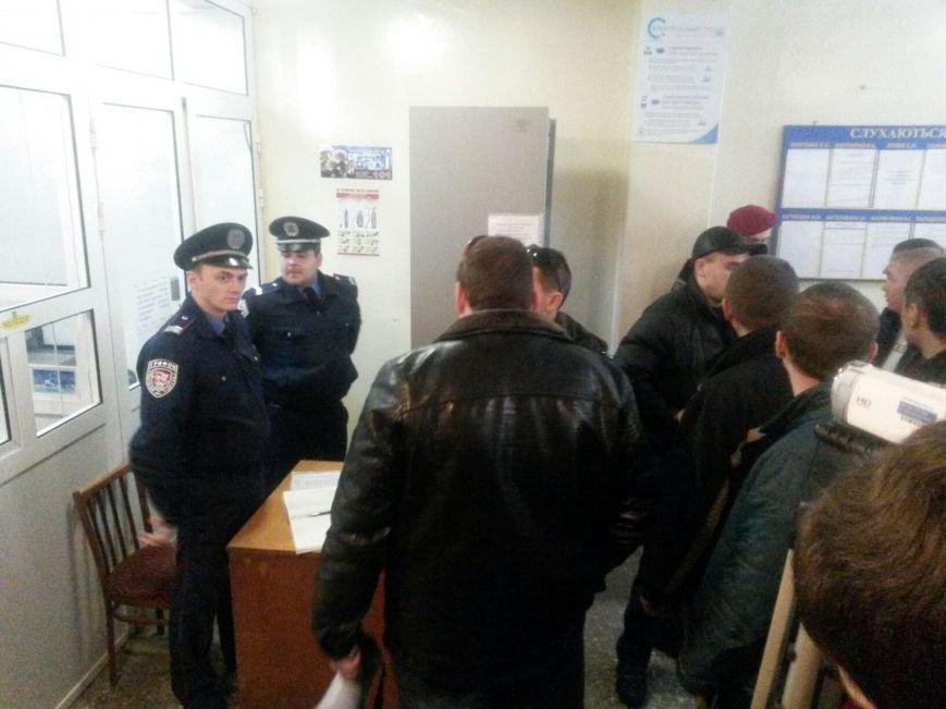 Сегодня активисты «ДК»  предстали перед судом за мелкое хулиганство и неповиновение (ФОТО, Видео), фото-1
