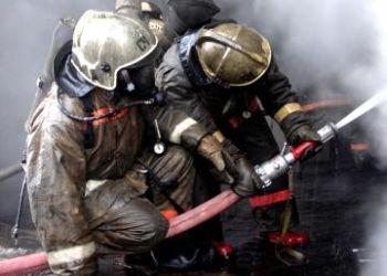 Ночной пожар в Белых Столбах Домодедово, фото-1