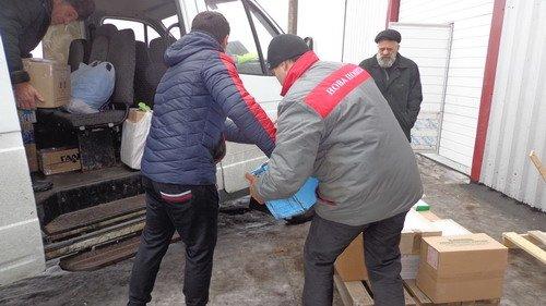 Красноармейские регионалы собрали и уже отправили в Киев гуманитарную помощь для защитников, фото-1