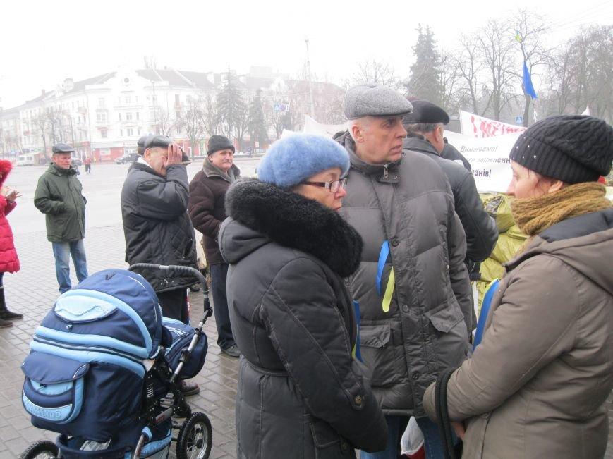 Черниговцы проявили солидарность и поддержали предупредительную забастовку, фото-1
