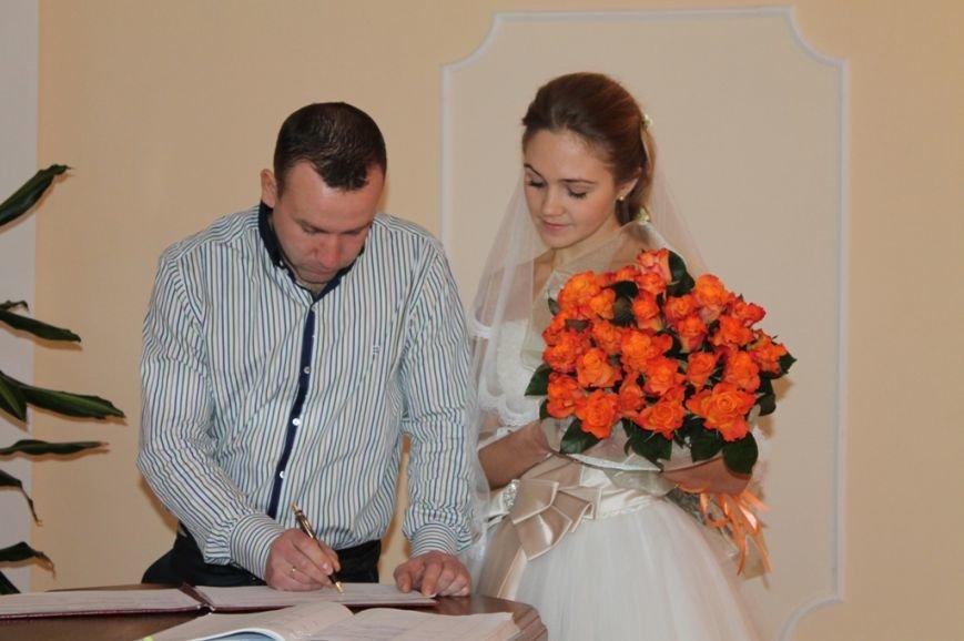 В День Влюбленных в Артемовске расписались одиннадцать пар, фото-6