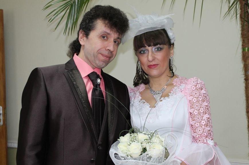 В День Влюбленных в Артемовске расписались одиннадцать пар, фото-1