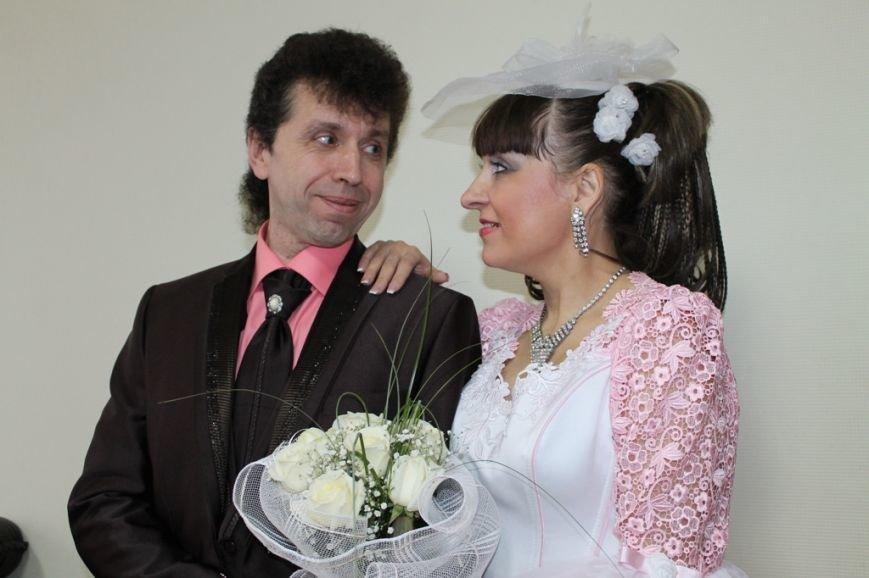 В День Влюбленных в Артемовске расписались одиннадцать пар, фото-2