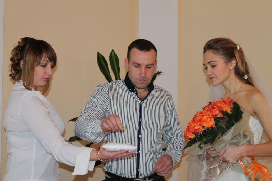 В День Влюбленных в Артемовске расписались одиннадцать пар, фото-4