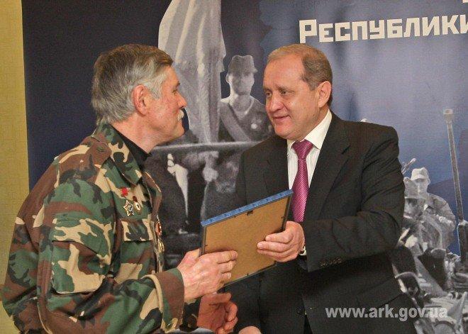 В Симферополе чествовали афганцев (ФОТО), фото-2