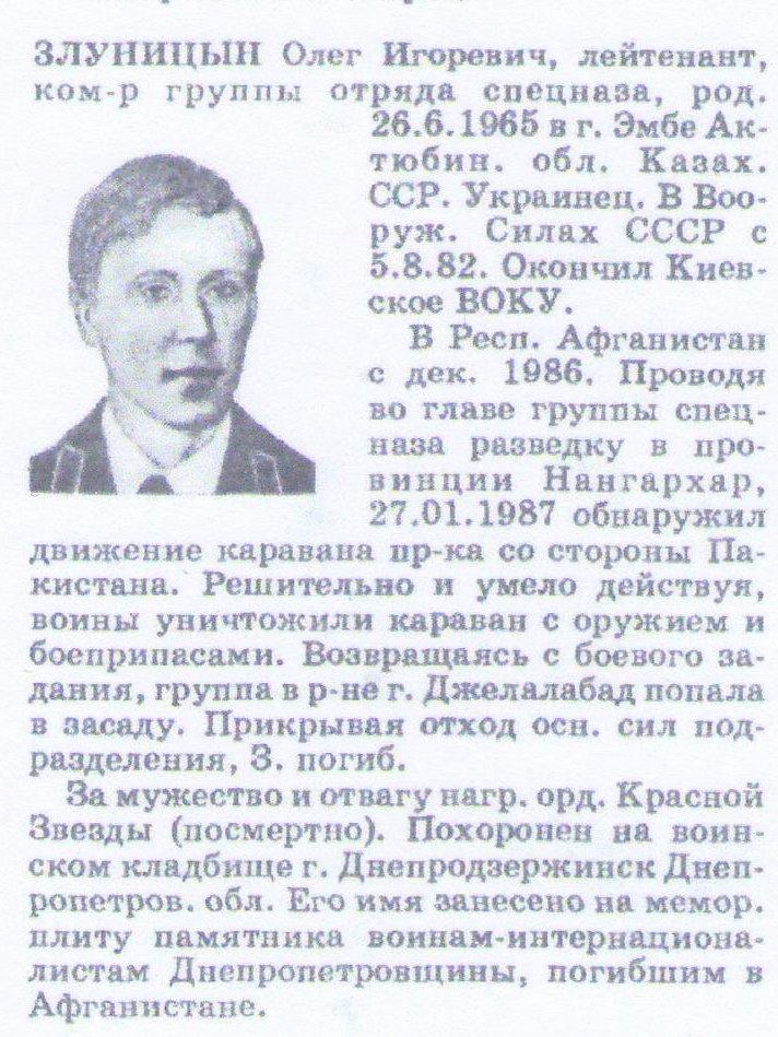 Злуницын