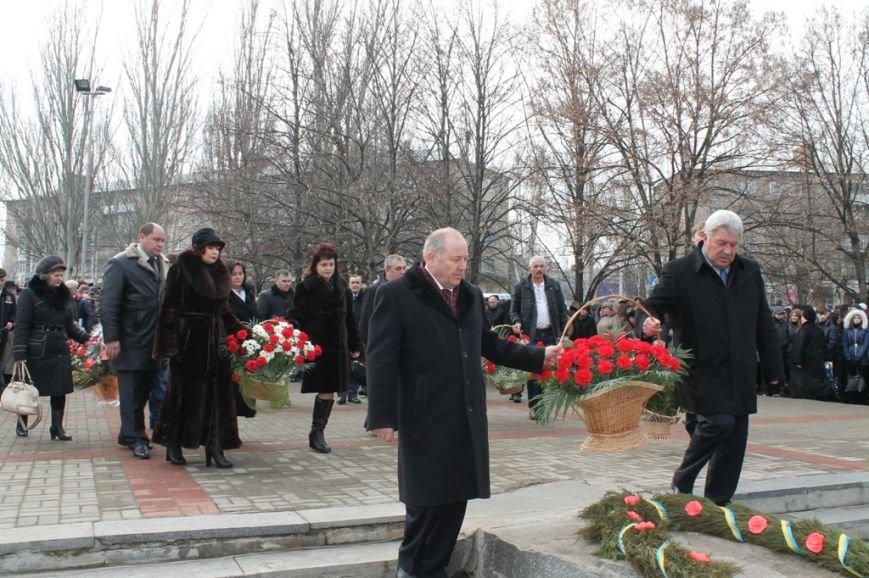 В Артемовске прошел митинг у памятника воинам-интернационалистам, фото-7