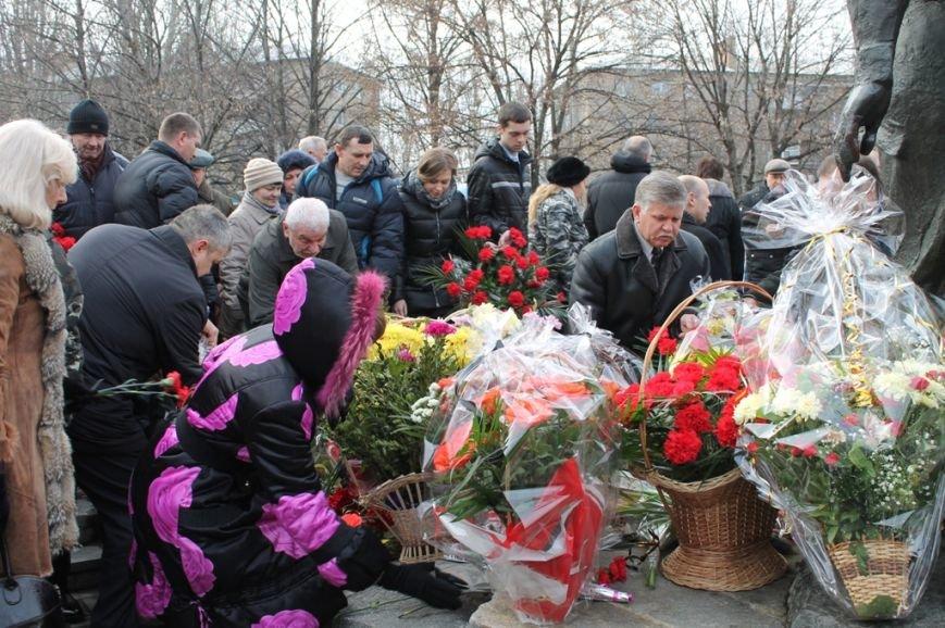 В Артемовске прошел митинг у памятника воинам-интернационалистам, фото-8