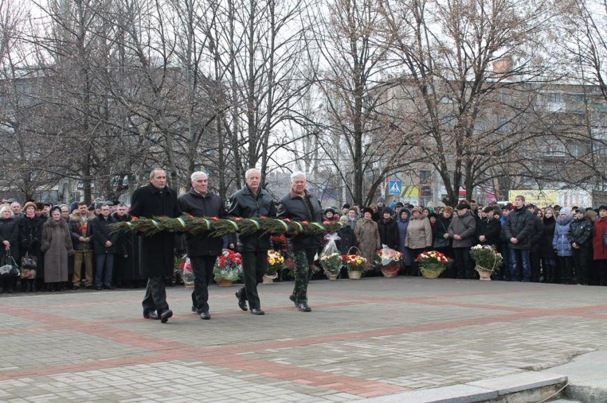 В Артемовске прошел митинг у памятника воинам-интернационалистам, фото-6