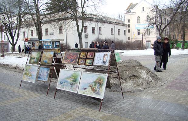 """Сьогодні у центрі міста """"Святий Валентин"""" вітав тернополянок зі святом (фото), фото-5"""