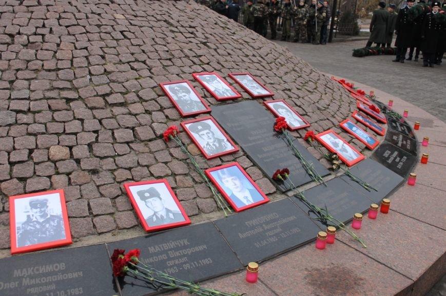 В Кривом Роге отметили 25-ю годовщину вывода советских войск с Афганистана (ФОТО), фото-8