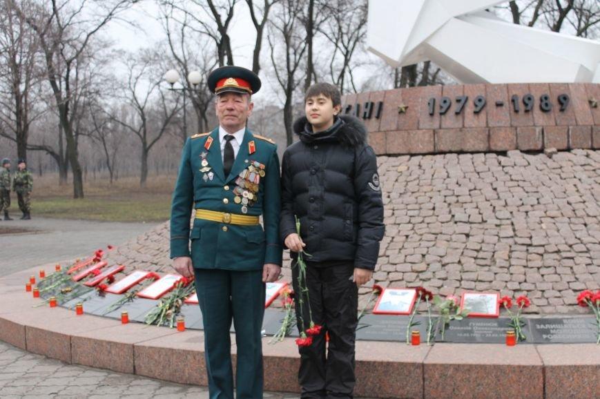 В Кривом Роге отметили 25-ю годовщину вывода советских войск с Афганистана (ФОТО), фото-14