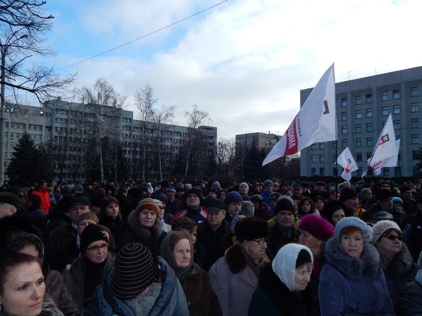 Близько двох тисяч полтавців прийшли на зустріч з Кличком, фото-1
