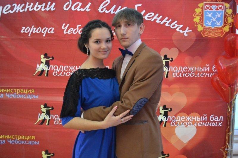 В День святого Валентина в Чебоксарах прошел городской бал влюбленных, фото-13