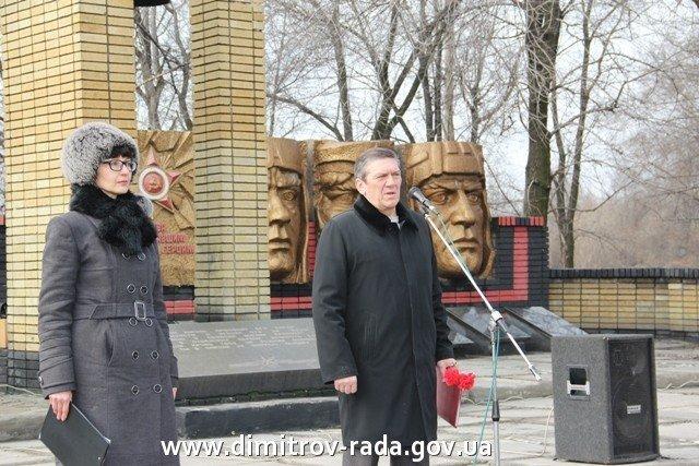 В Димитрове в честь годовщины вывода советских войск из Афганистана провели митинг, фото-2