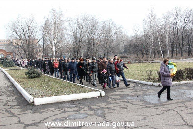 В Димитрове в честь годовщины вывода советских войск из Афганистана провели митинг, фото-1