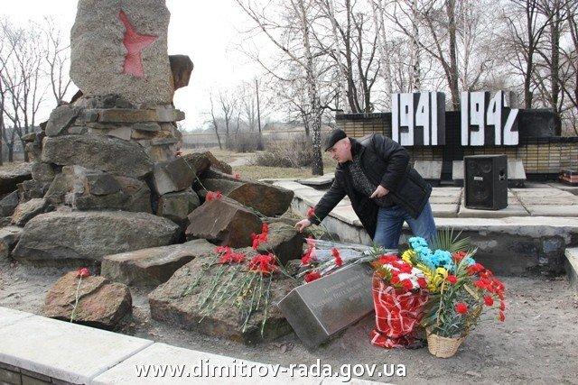 В Димитрове в честь годовщины вывода советских войск из Афганистана провели митинг, фото-3