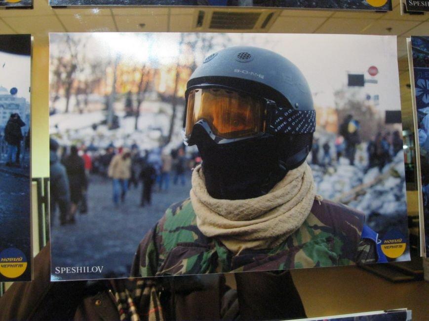 Неизвестные едва не сорвали открытие в Чернигове фотовыставки «Евромайдан: путь Украины», фото-4