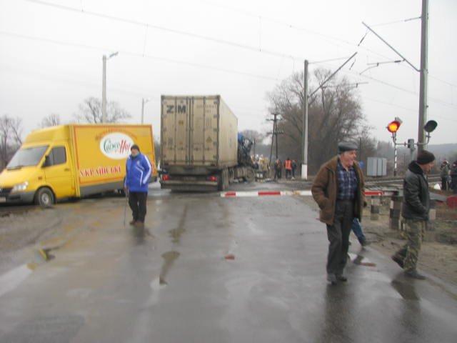 ДТП на переезде в Кременчугском районе заблокировало движение поездов на 2 часа (ФОТО), фото-3