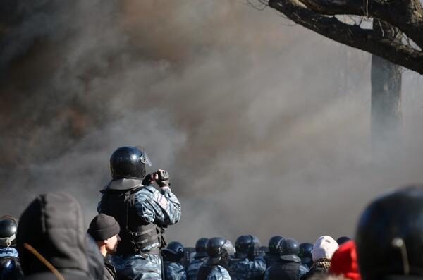 18 февраля 2014 года в Киеве были убиты 9 человек. 0629 вел он-лайн трансляцию тех событий, фото-2