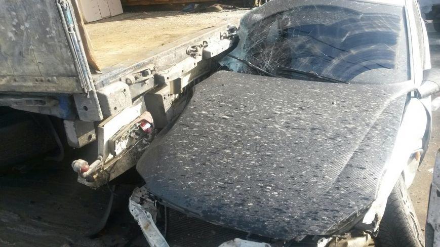 В Мариуполе безумный «Опель» врезался в припаркованный автомобиль (ФОТО), фото-3