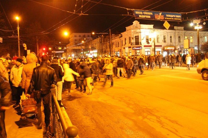 Из-за кровопролития в Киеве в Сумах полтысячи человек устроили марш по улицам города (ФОТО+ВИДЕО), фото-3
