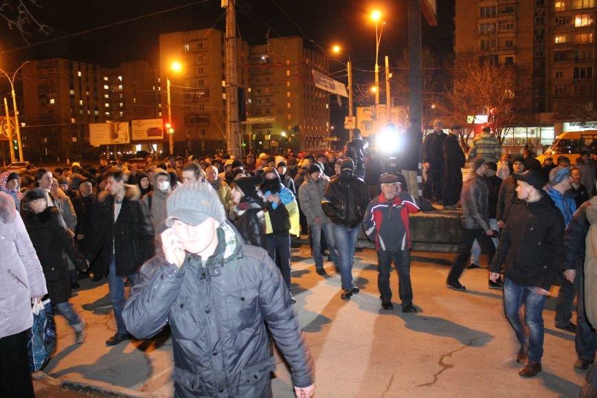 Из-за кровопролития в Киеве в Сумах полтысячи человек устроили марш по улицам города (ФОТО+ВИДЕО), фото-7