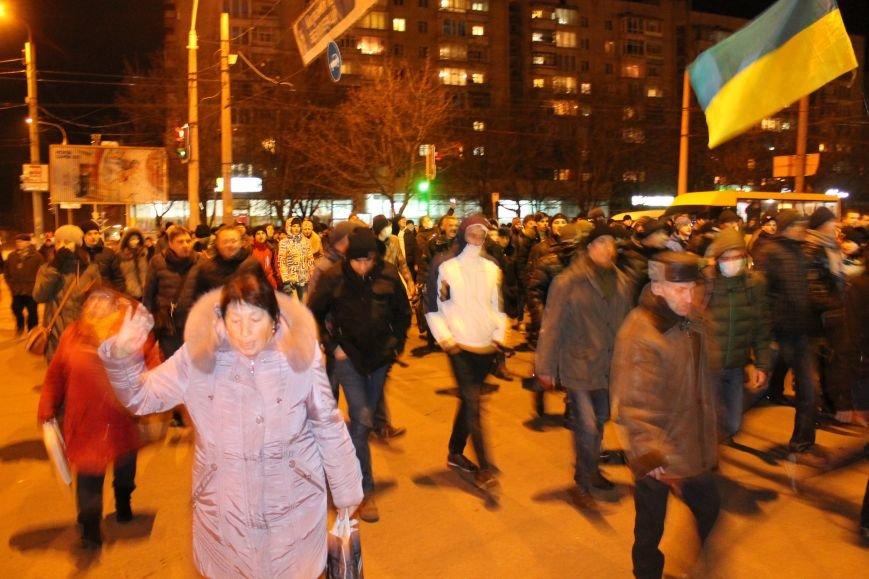 Из-за кровопролития в Киеве в Сумах полтысячи человек устроили марш по улицам города (ФОТО+ВИДЕО), фото-6