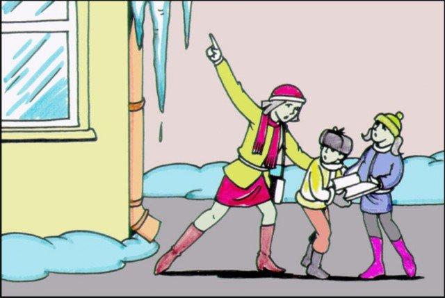Домодедовцы активнее всех жалуются в Госжилинспекцию МО на опасные сосульки, фото-1