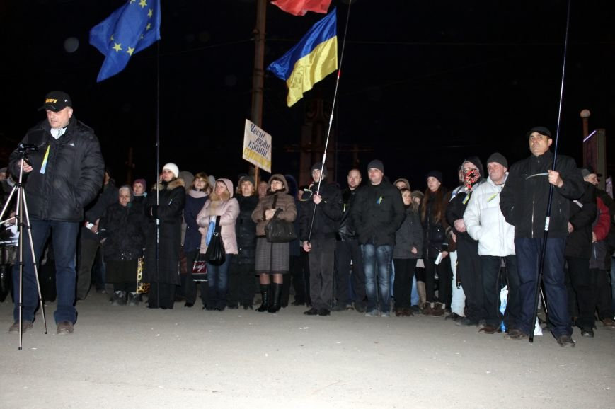 Активисты Кривого Рога объявили бессрочную акцию протеста, фото-8