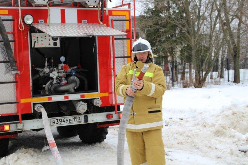 Учебная пожарная тревога прошла в Повадинской школе Домодедово, фото-3