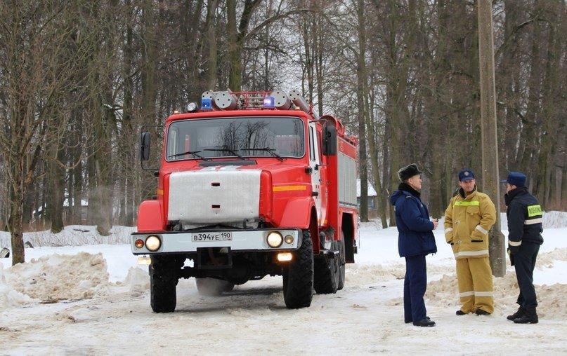 Учебная пожарная тревога прошла в Повадинской школе Домодедово, фото-1