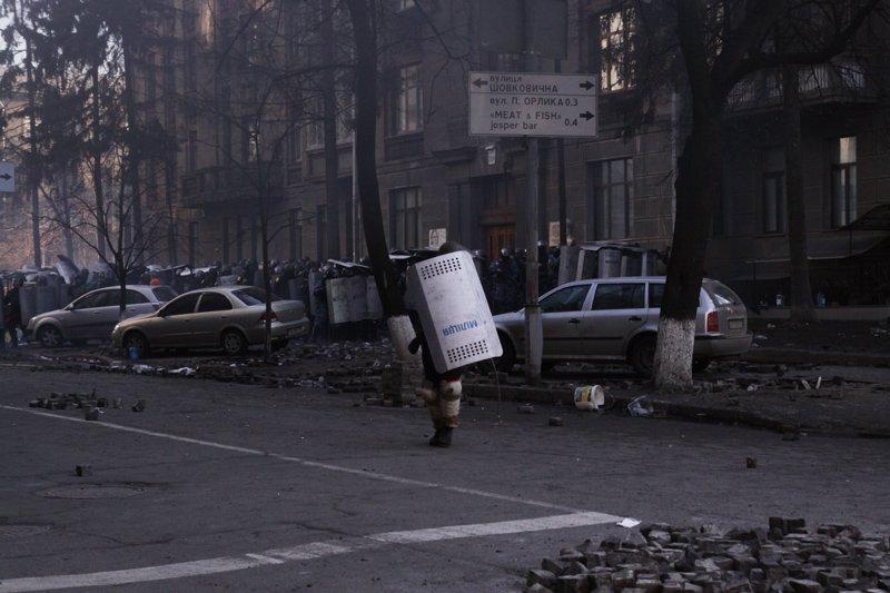Наступление Беркута 18 февраля, фото-10