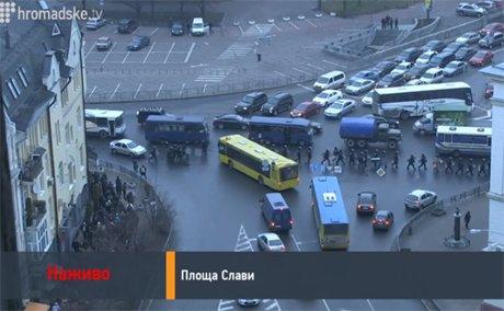 Верховная Рада сегодня не заработает: из здания срочно эвакуируют работников, «Беркут» и титушек (ФОТО), фото-2