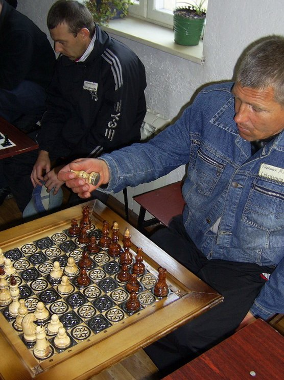 В Симферополе для заключенных провели турнир по шашкам и шахматам (ФОТО), фото-1