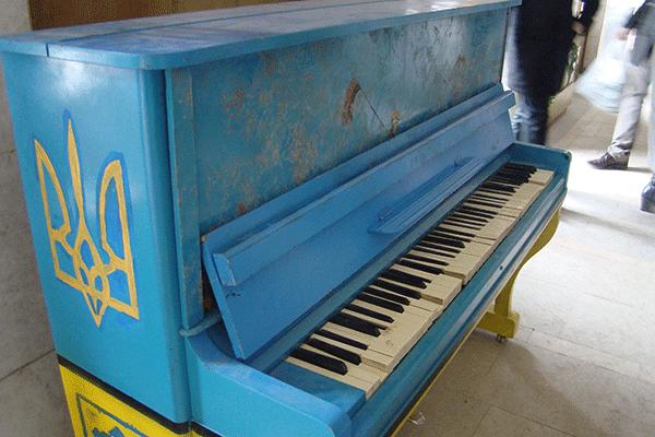 У Тернополі понищили революційне піаніно, фото-1