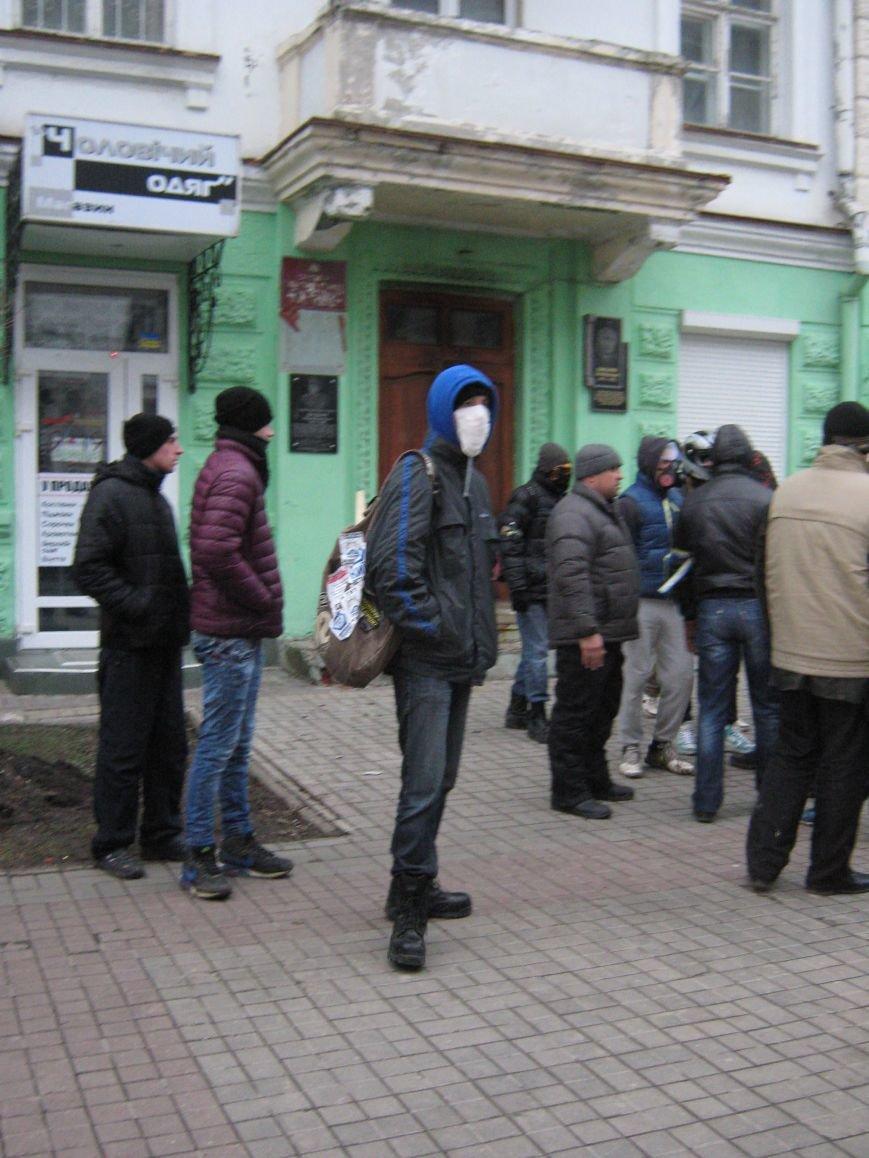 Нападение на офис КПУ в Сумах (ФОТО), фото-8