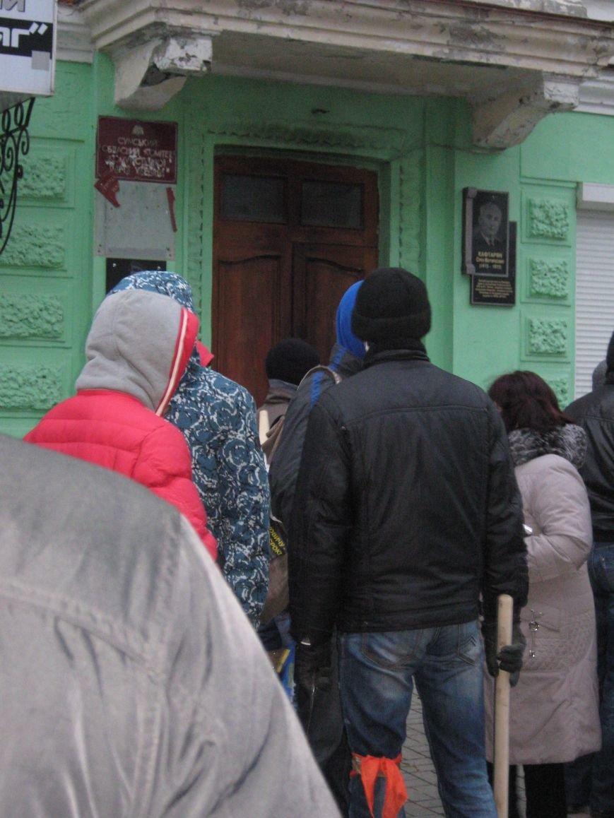 Нападение на офис КПУ в Сумах (ФОТО), фото-7