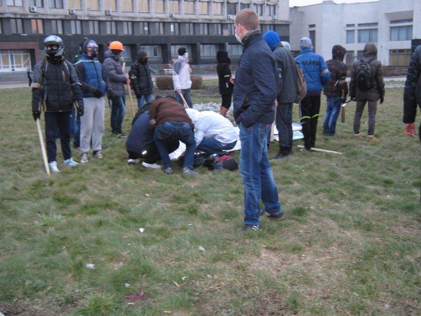 Нападение на офис КПУ в Сумах (ФОТО), фото-5